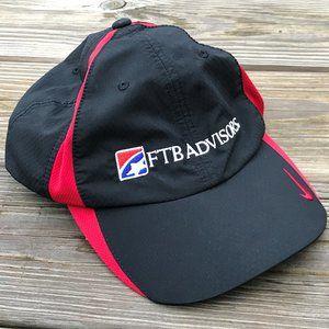 Nike Golf Hat FTB Advisors Black/Red Sport Cap Hat